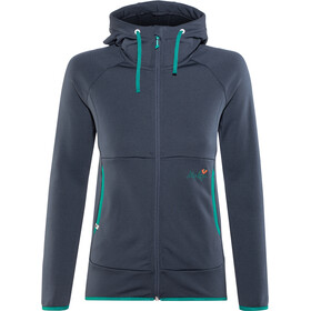 Maloja AmaliaM. Uni Hooded Fleece Jacket Damen mountain lake